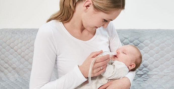 Sposoby na katar niemowlaka