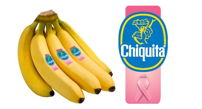 W październiku nawet banany noszą różową wstążeczkę