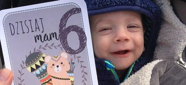 Karty do zdjęć - stwórz oryginalne pamiątki z pierwszego roczku dziecka