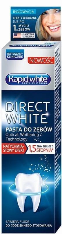 Rapid White pasta do zębów