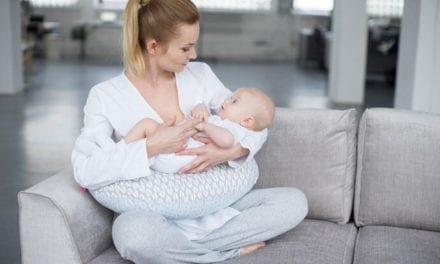 Poduszka do karmienia fasolka dla przyszłej mamy