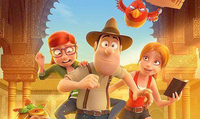 Animowani bohaterowie Tedi i mapa skarbów zapraszają do kina