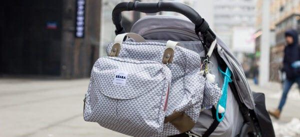 Pojemna i praktyczna torba do wózka dla mamy