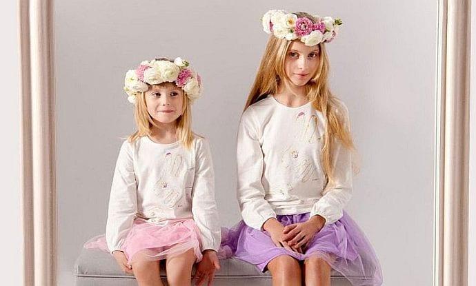 Wiosna w tiulach i groszkach, czyli w co ubrać dzieci