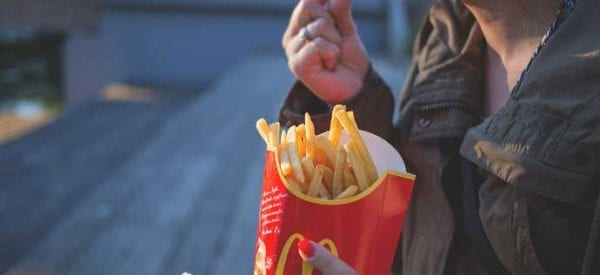 Ciąża i fast food - to się wyklucza