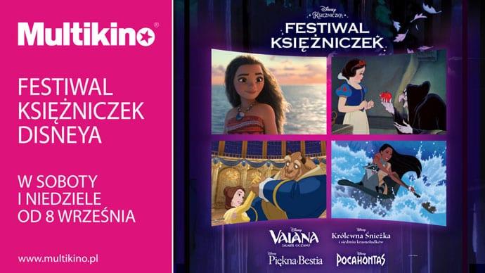 Magiczny Festiwal Księżniczek Disneya w Multikinie