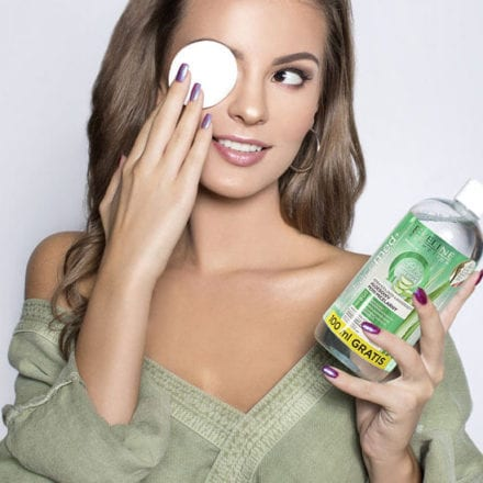 Aloesowy rytuał oczyszczania i pielęgnacja z Eveline Cosmetics