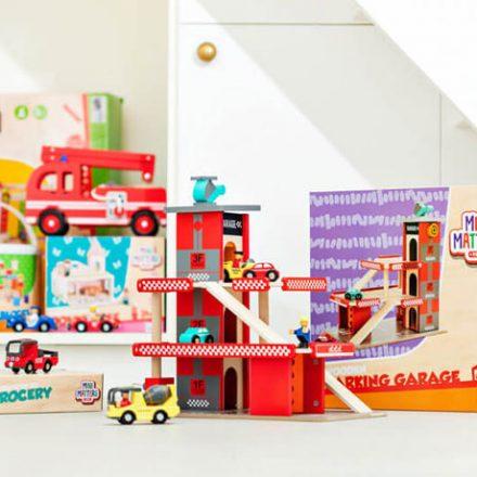 Dzieci pokochają drewniane zabawki marki Mini Matters