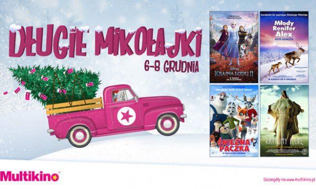 Od 6 do 8 grudnia Długie Mikołajki w Multikinie!