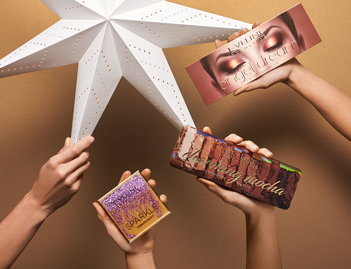Pomysł na prezent dla mamy? Modna paleta cieni od Eveline Cosmetics