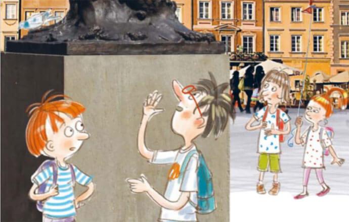 Tajemnica zielonej teczki – warszawska gra miejska dla najmłodszych  w nowej książce!