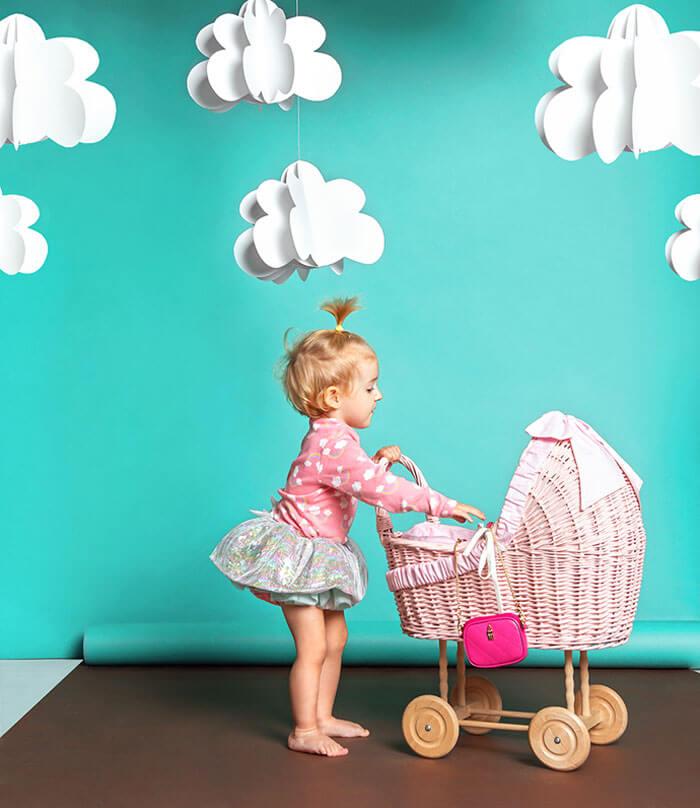 torebka dla dziewczynki Wojewodzic baby