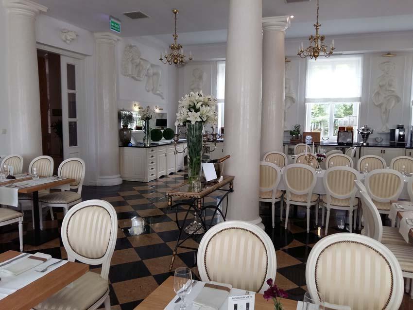 restauracja Pałac Alexandrinum