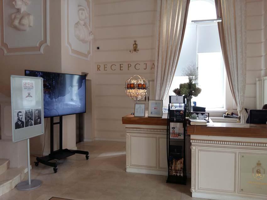 recepcja Hotel Pałac Alexandrinum