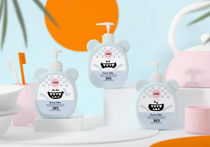 Naturalne antybakteryjne mydło dla dzieci od Yope