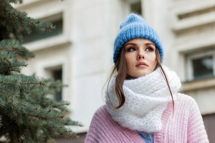 Jak dbać o usta zimą?
