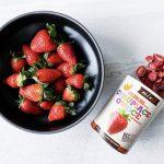 Liofilizowane owoce dla niemowląt i dzieci