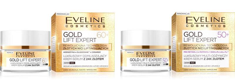 kremy ze złotem Eveline Cosmetics