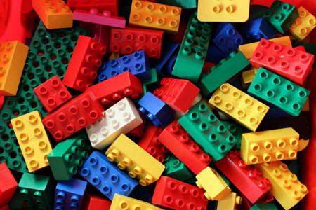 klocki lego dla dziecka