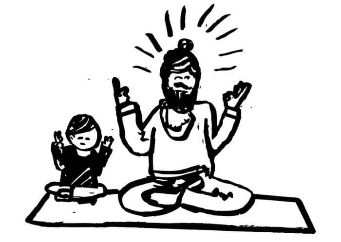 Yope medytacja