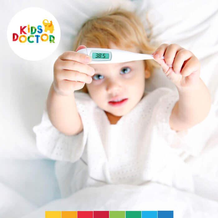 kid's doctor chore dziecko