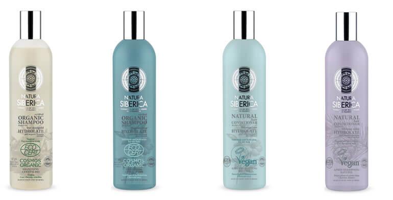 Natura Siberica szampony